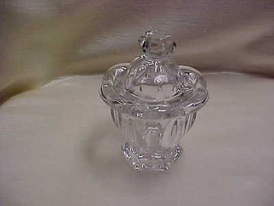 Vintage Hexagon Panel Design Jelly Jam Jar with Lid Crystal Clear Color Glass