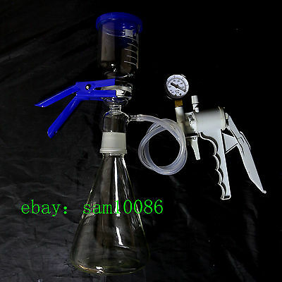 1000ml,Vacuum Suction Filter Device,1 L,Buchner Filting Apparatus,Glassware Kit
