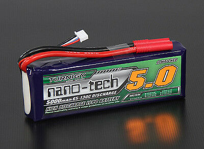 RC Turnigy nano-tech 5000mah 3S 65~130C Lipo Pack