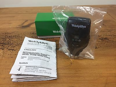 FACTORY SEALED 11720 WELCH ALLYN 3.5 V COAXIAL OPHTHALMOSCOPE for DIAGNOSTIC SET
