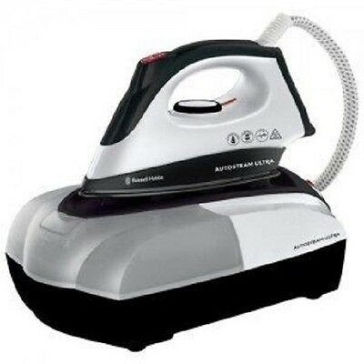 RUSSELL HOBBS 22191 auto STEAM GENERATOR IRON, 2400W, BLACK & WHITE