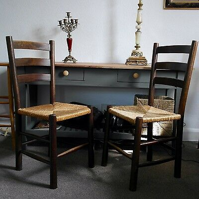 Pair Of Vintage French V. Van Gogh Chairs