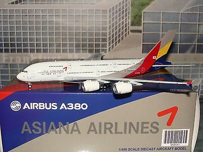 JC Wings 400 Asiana A380 HL7635 1/400 **Free S&H** 0916