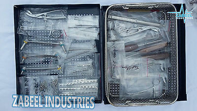 New Quality Orthopedic Complete System,Kit 1.5/2.0/ 2.7/3.5/4.0mm Veterinary New