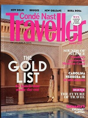 CONDÉ NAST TRAVELLER MIDDLE EAST 2/15 (auf Englisch) Namibia, Tasmania, Gold Lis