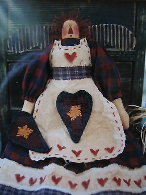 """"""" GARDENING ANNIE """" ...Cloth Doll Pattern....by Meme's Quilts"""