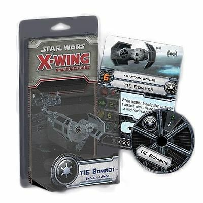 (NIB) Star Wars X-Wing Miniatures Game: TIE Bomber Expansion Pack FFG (SWX15)