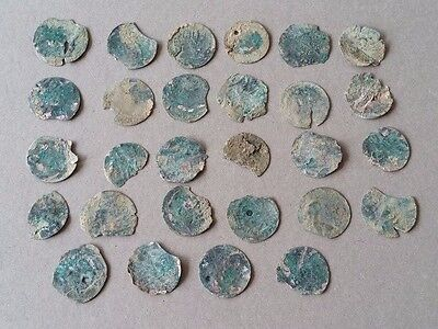 COLLECTIBLE SET of 28pcs Mix Аrtifact Medieval OTTOMAN TURKISH SILVER COINS
