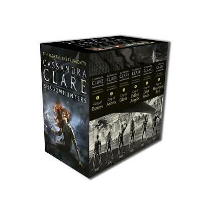 The Mortal Instruments by Cassandra Clare Hardcover Book Free Shipping!