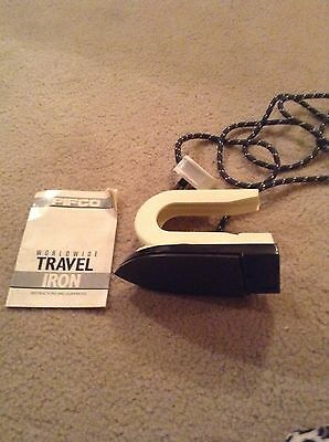 Pifco Travel Iron Working Order Folds Flat