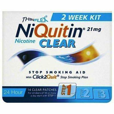 NiQuitin CQ Clear  Step 1 14 Patches - 21 mg
