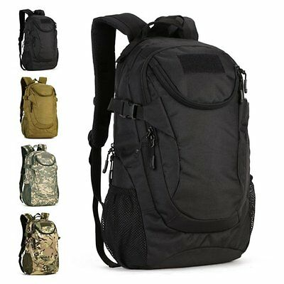 25L Hiking Camping Bag Army Military Tactical Backpack Rucksack Trekking Travel