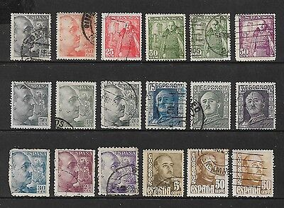 SPAIN - mixed collection, early General Franco
