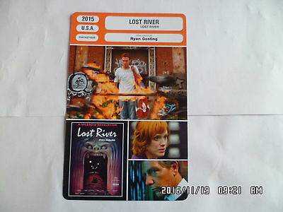 CARTE FICHE CINEMA 2015 LOST RIVER Christina Hendricks Iain De Caestecker