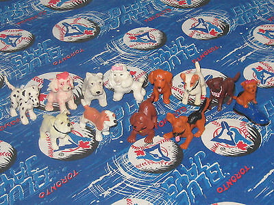 Puppy in My Pocket- Set of 12 Rubber Dogs