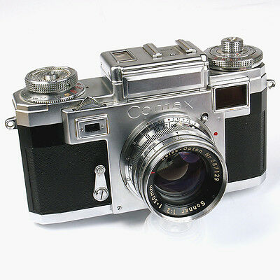 Zeiss Ikon Contax III A 35mm Meßsucher Kit mit 50/2.0 Opton-Sonnar (FN013504)