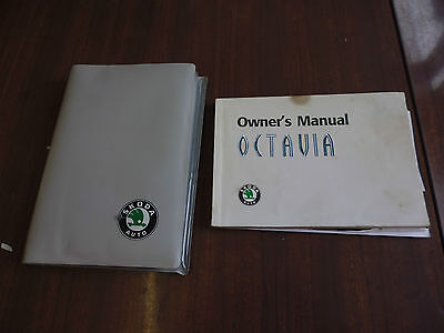 Skoda Octavia Owner's Manual, Handbook, Hand Book