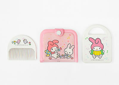 (VERY RARE!) Vintage My Melody Mirror and Comb Set - Sanrio 1981 - Made in Japan