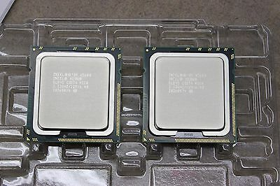 Matched Pair of Intel Six Core Xeon X5680 3.33GHz CPUs  SLBV5