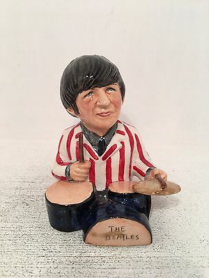 Manor Collectables Ringo Starr Limited Edition Toby Jug 484 of 1963 *MINT*