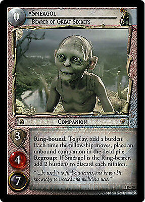 Lord of the Rings LOTR TCG - Reflections 9R+30 Sméagol, Bearer of Great Secrets