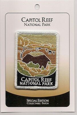 Capitol Reef National Park  Souvenir Patch - Special Edition Traveler Series