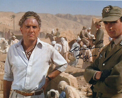 Anthony Higgins In Person Signed Photo - B161 - Raiders of the Lost Ark