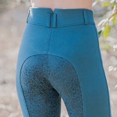 Equetech Empire Paisley Breeches - Full Seat With Silicone Print - Also In White
