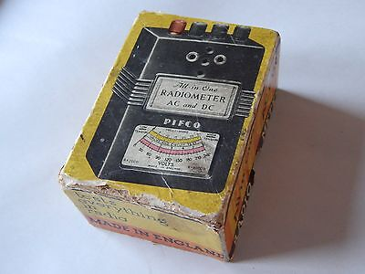 Pifco Radiometer Eletrical Meter Vintage 1940s Boxed With Prods NR VERY RARE