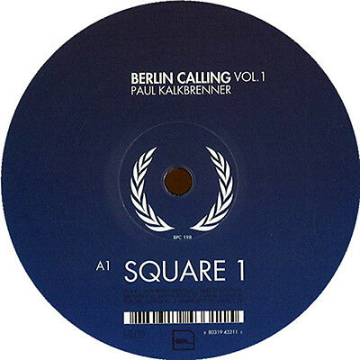 PAUL KALKBRENNER Berlin Calling VOL1 Square Aaron Azure / BPitch Control NEW