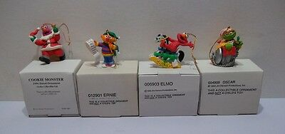 Lot of 4 Sesame Street Ornaments  Lot B