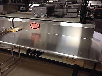 """Dishtable Clean Straight 30""""x72"""" John Boos Cdt6-S72Sbk-L Sits On Left Side Of Dw"""