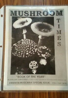 Extremely Rare! Issue#1 Mushroom Times