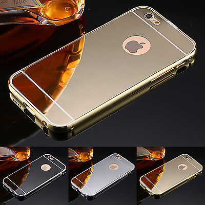 20x Job Lot Wholesale Bulk Luxury Metal Frame Mirror Back Case For iPhone 6 /6S
