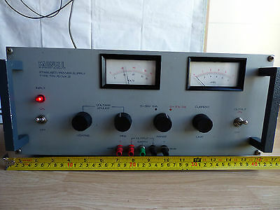 FARNELL Instruments TSV70 MK.2 Stabilised REGULATED Electric POWER SUPPLY 70V