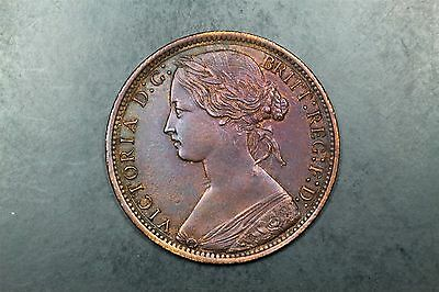 Great Britain one penny 1873 Victoria Eric Newman #1609269-179