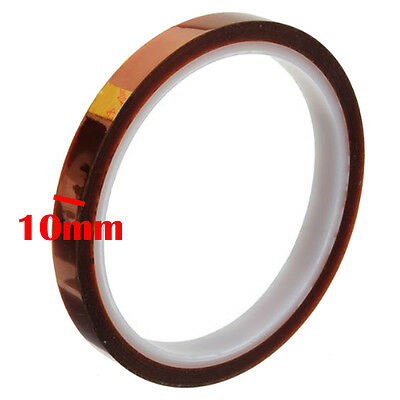 Kapton Polyimide Tape BGA Gold Fingers High Temperature Heat 10mm x 33m US ship