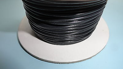 50m Roll of 1mm 16.5A automotive thinwall wire cable BLACK