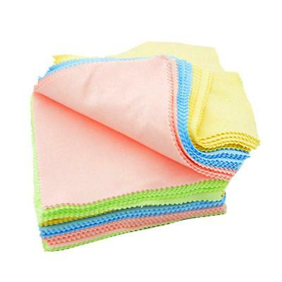 100 x Microfiber Phone Screen Camera Lens Glasses Cleaning Clothes 13x13cm