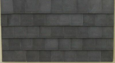 Grey Roof Tiles - Large - Dolls House - 1/24th Scale.