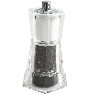 T&G Flare Combi Mill 2 in 1 Pepper Mill and Salt Shaker - Acrylic 120 mm