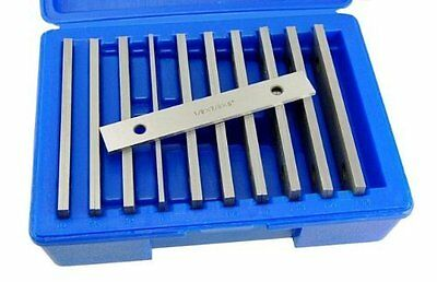 "Machinists Thin Parallel Bar Set - 10 Pair 1/8"" X 6"""