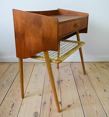 Danish Mid-Century Teak Entry Table
