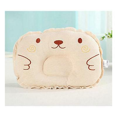 Infant Newborn Baby Anti Roll Pillow Sleep Positioner Prevent Flat Head Cushion#