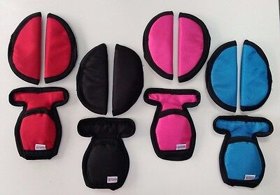 Baby Car Seat Strap Belt Crotch Covers Shoulder Pads Maxi Cosi Compatible