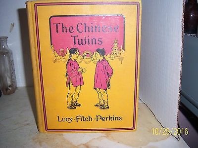 1935 THE Chinese TWINS  LUCY-FITCH-PERKINS HOUGHTON-MIFFLIN