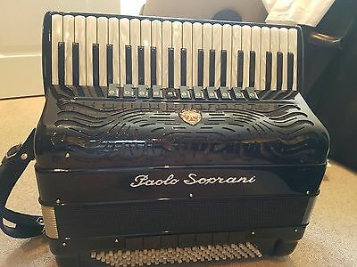 Paolo Soprani Piano Accordion - Excellent Condition