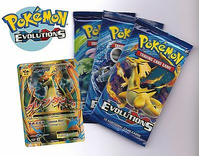 Pokemon Evolutions XY 12 Booster Pack - New And Sealed