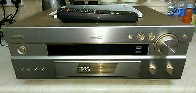 yamaha rx-v1000 home cinema dsp stereo amplifier tuner with remote