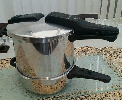 WMF Perfect Plus Pressure Cooker Set 6.5ltr and 3.0ltr